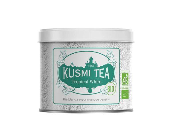 kusmi tea - thé blanc bio - vente de thé bio en ligne