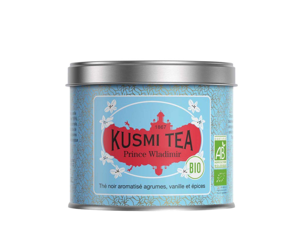 kusmi tea - thé noir bio - vente de thé bio en ligne