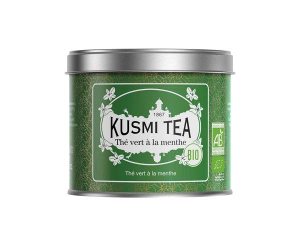 kusmi tea- vente de thé en ligne - thé bio - thé vert