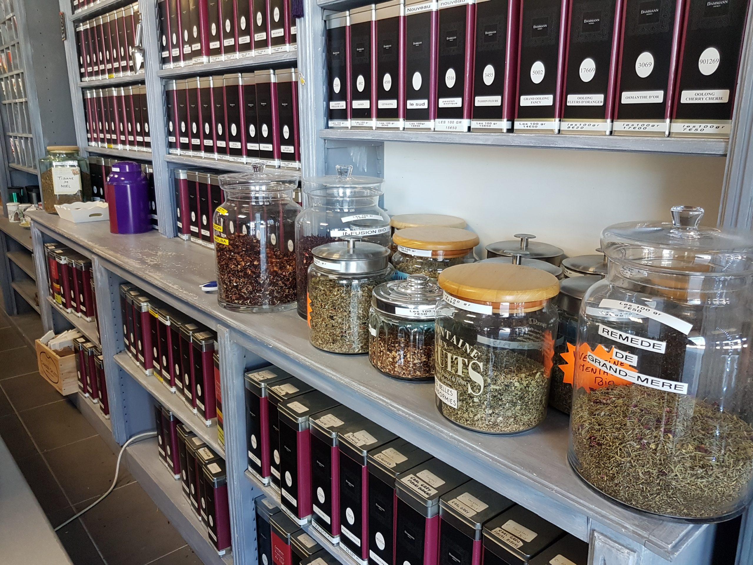 kusmi tea - achat de thé en ligne - epicerie fine