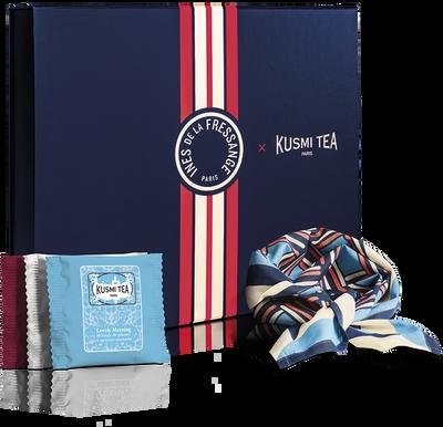 coffret voyage d'ines - achat de thé en ligne - kusmi tea