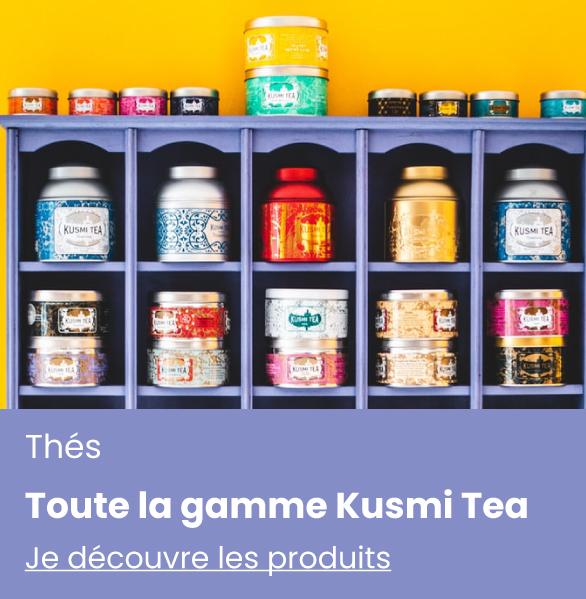 vente de thé en ligne - kusmi tea