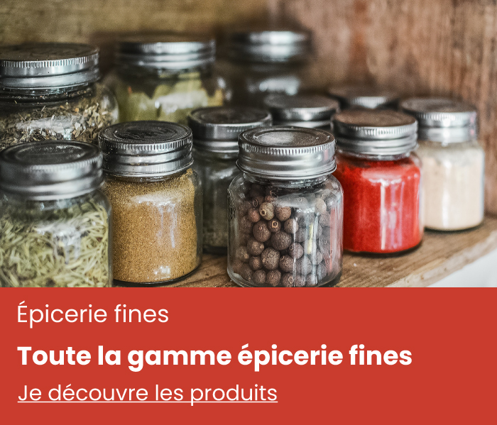 gamme epicerie fine - vente de thé en ligne